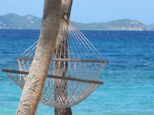 Hammock on Peter Island, BVI