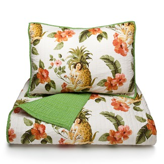 Pineapple Girl Bedding