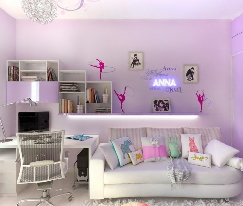 Purple Girl's Room