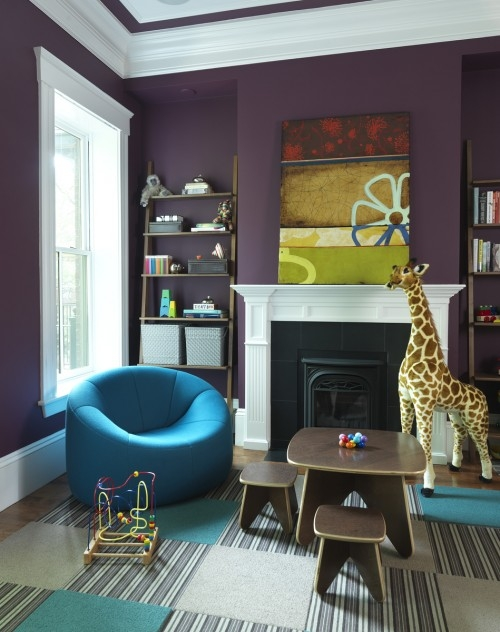 Purple Playroom
