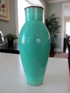 Green Vase - Full View