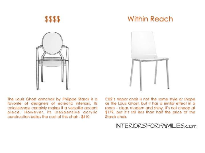 Starck Louis Ghost Chair