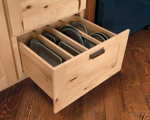 Deep Drawer With Cookie Sheets