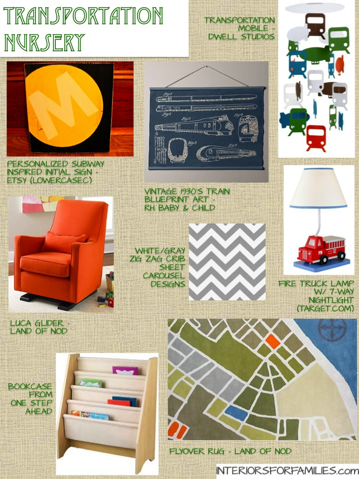 Transportation Nursery Theme | Interiors For Families