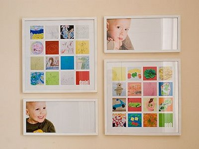 Kids Art Collage with Pictures and Personalization