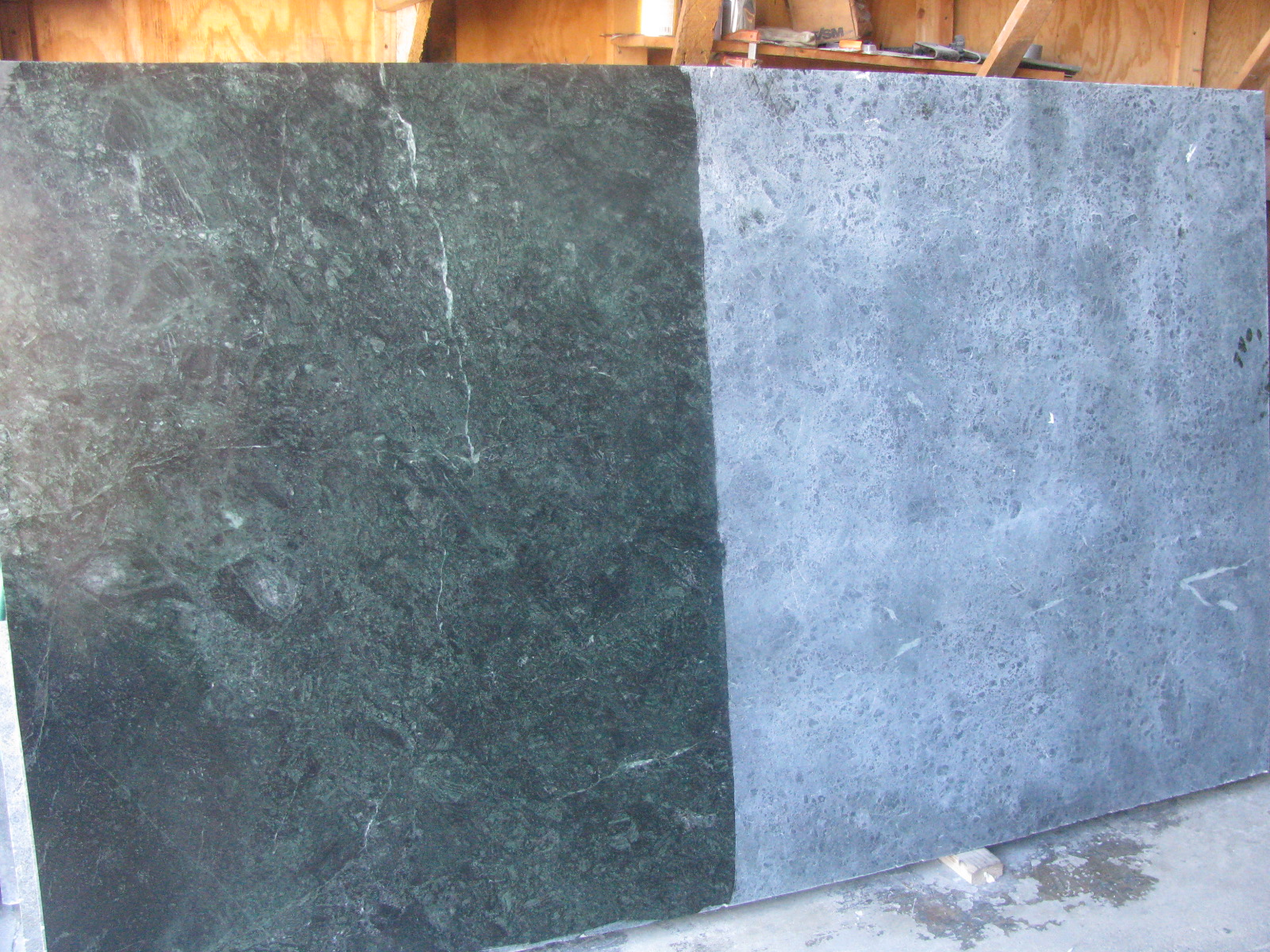 Oiled Vs. Unoiled Soapstone · Soapstone Countertop