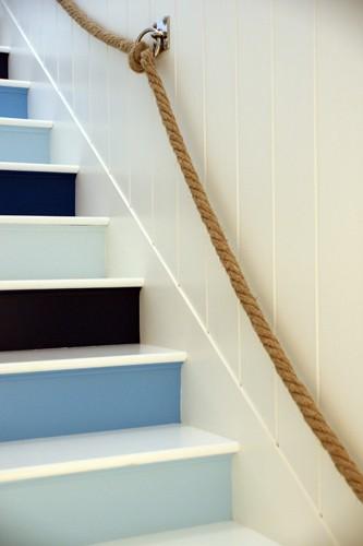 Blue Painted Risers - Jonathan Adler