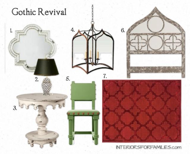Gothic Revival Interior Design a gothic revival – interiors for families