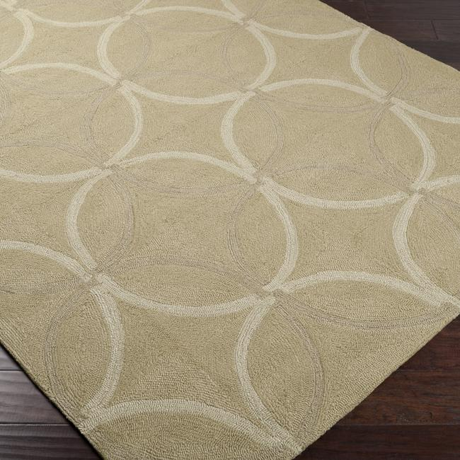 Hand-Hooked Bliss Outdoor Rug