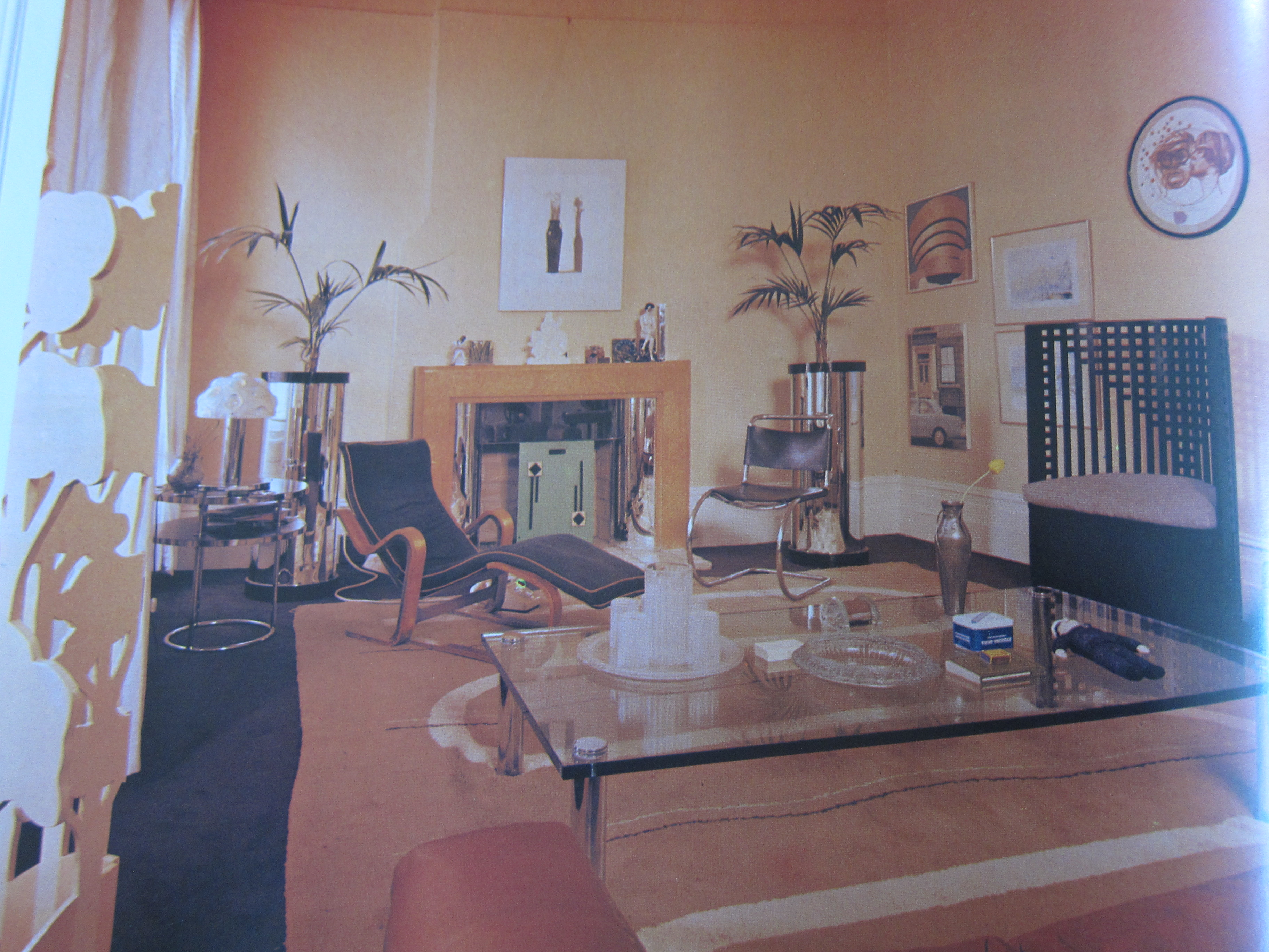 Interior design time warp 1 the 1970s interiors for for 1970s living room interior design