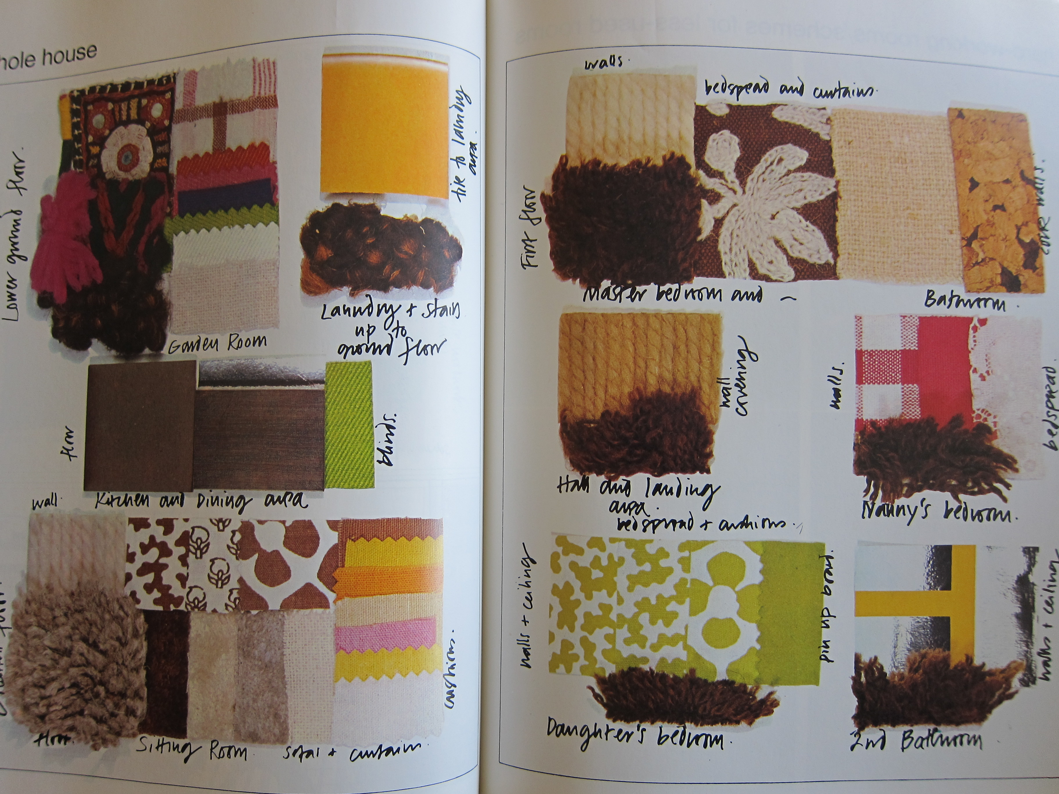 Interior design time warp 1 the 1970s interiors for for Interior design with waste material