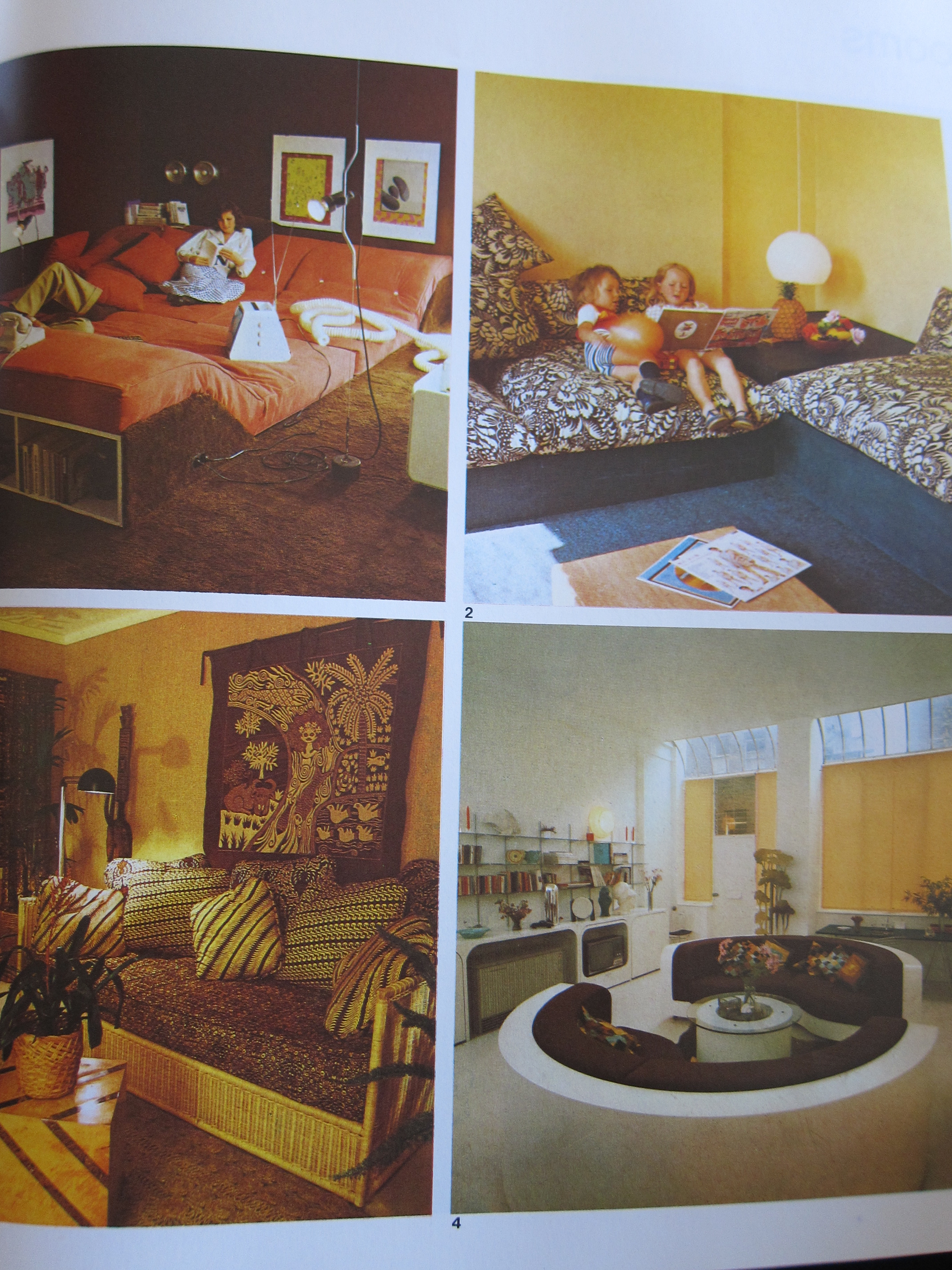 Interior Design Time Warp 1 The 1970s Interiors For