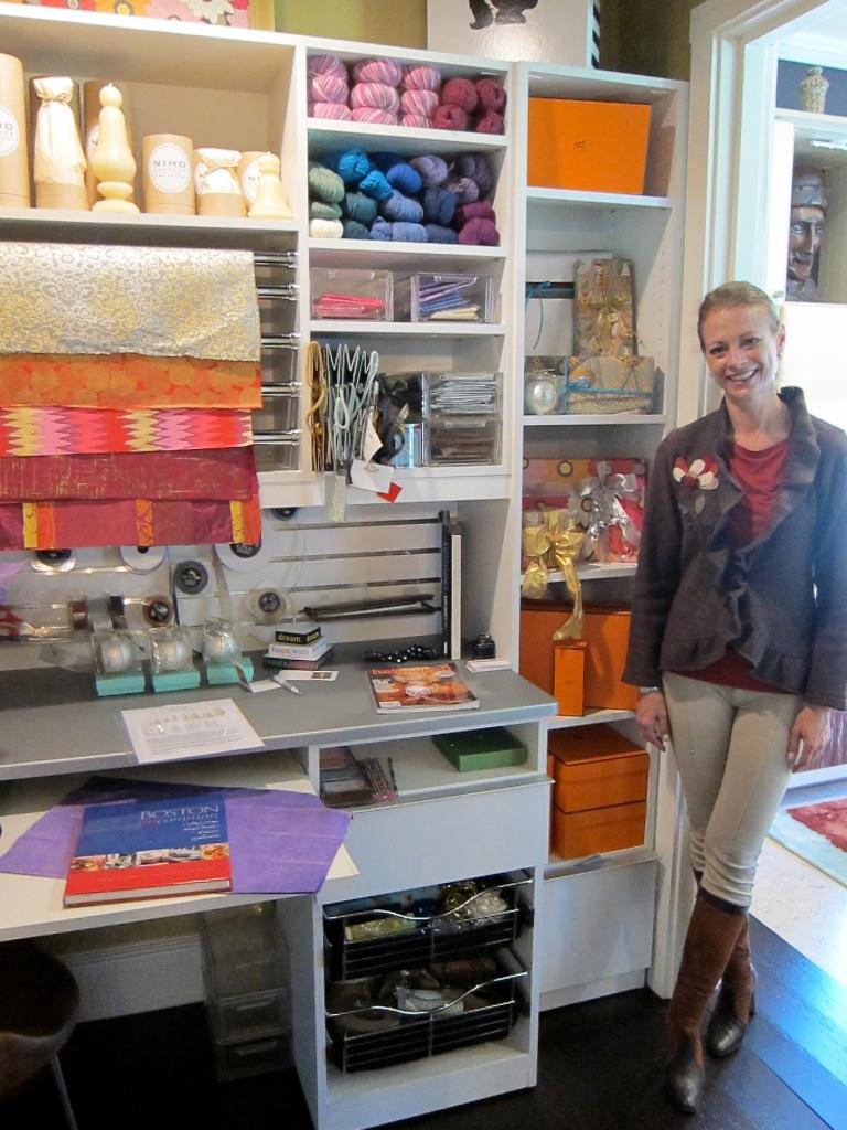 Suzanne Logan - Craft Closet/Family Room, JLB Show House 2012