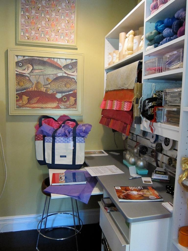 Suzanne Logan/Closet Solutions - Craft Closet, JLB Show House 2012