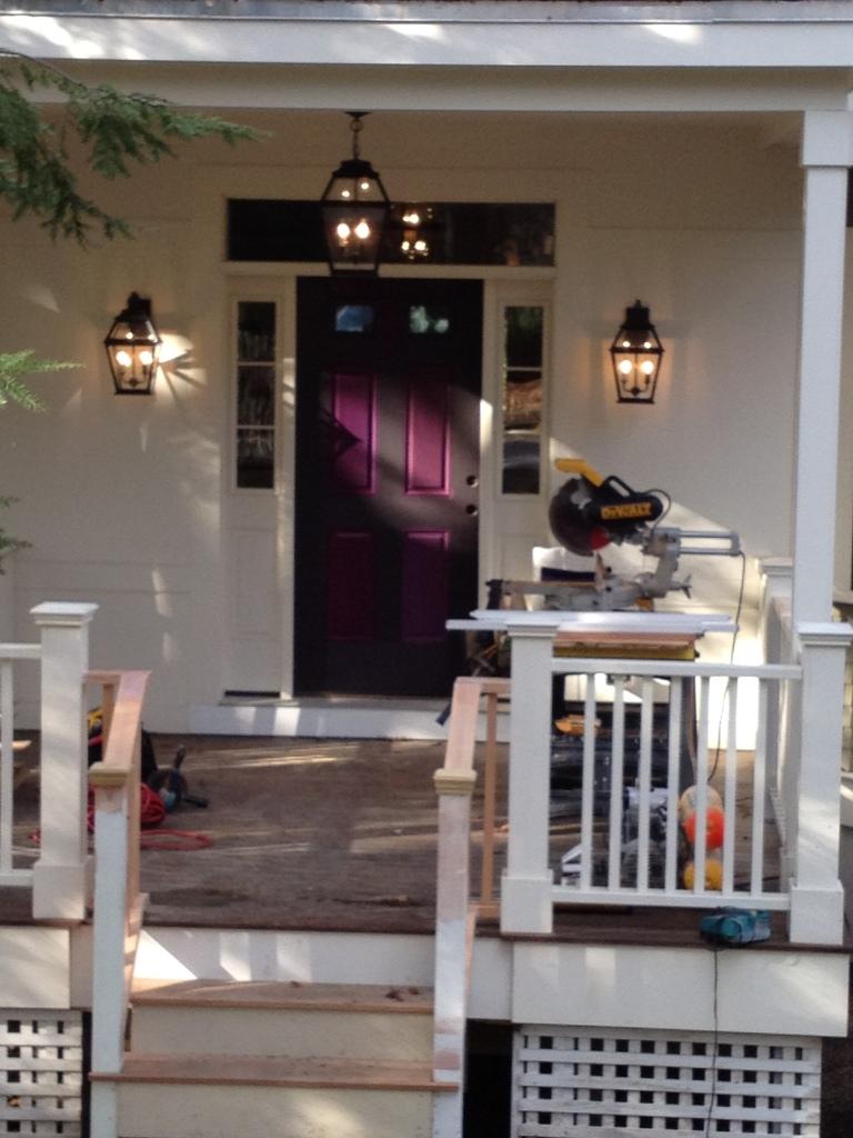 Front Door Paint Testing