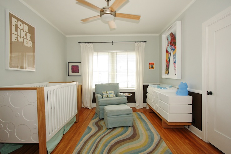 Ceiling Fan in Nursery