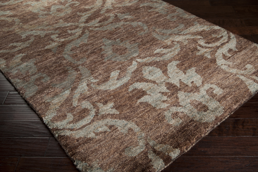 Trinidad hemp plush pile rug by Surya