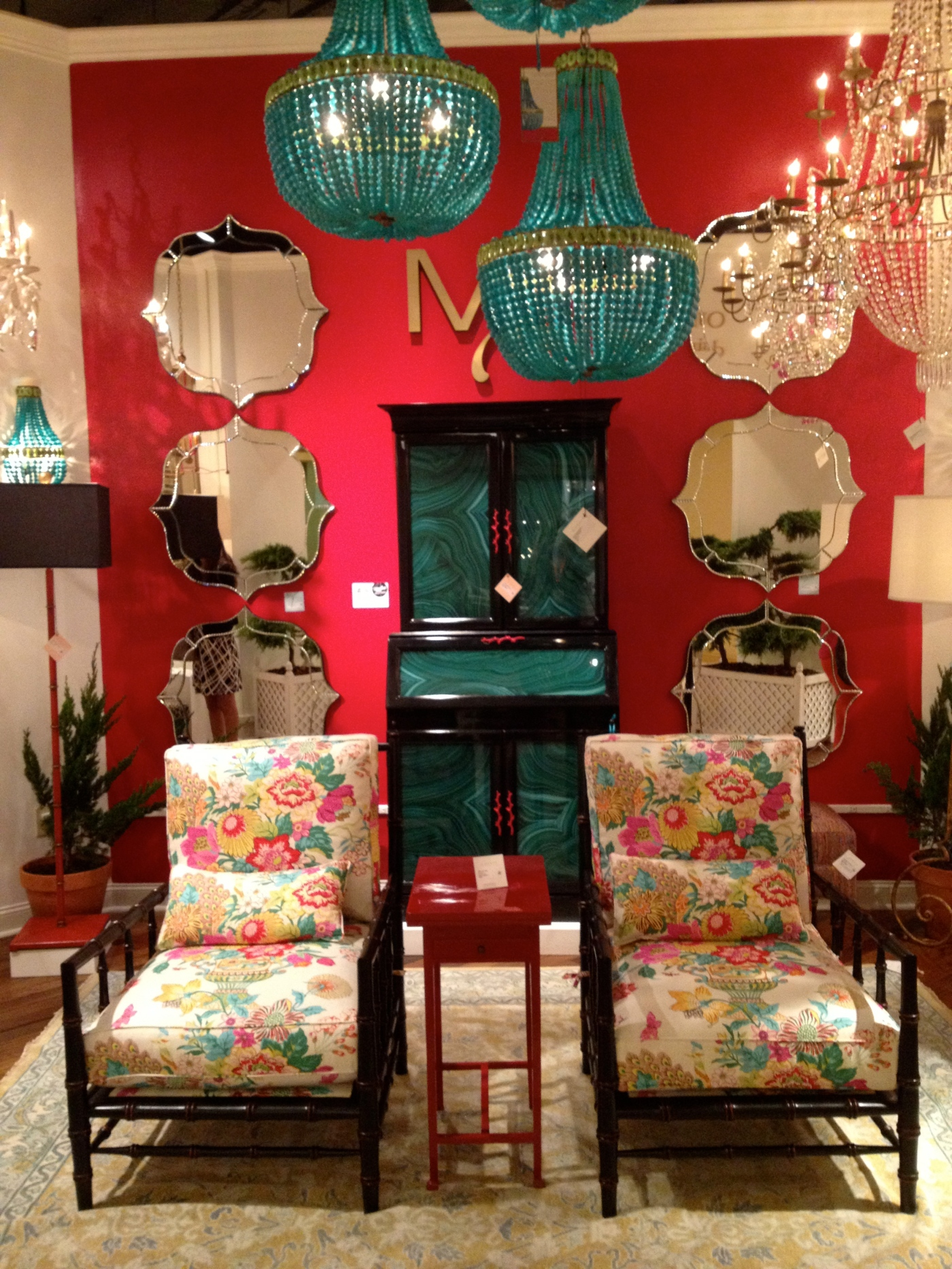 Currey & Co High Point Market 2013 #hpmkt