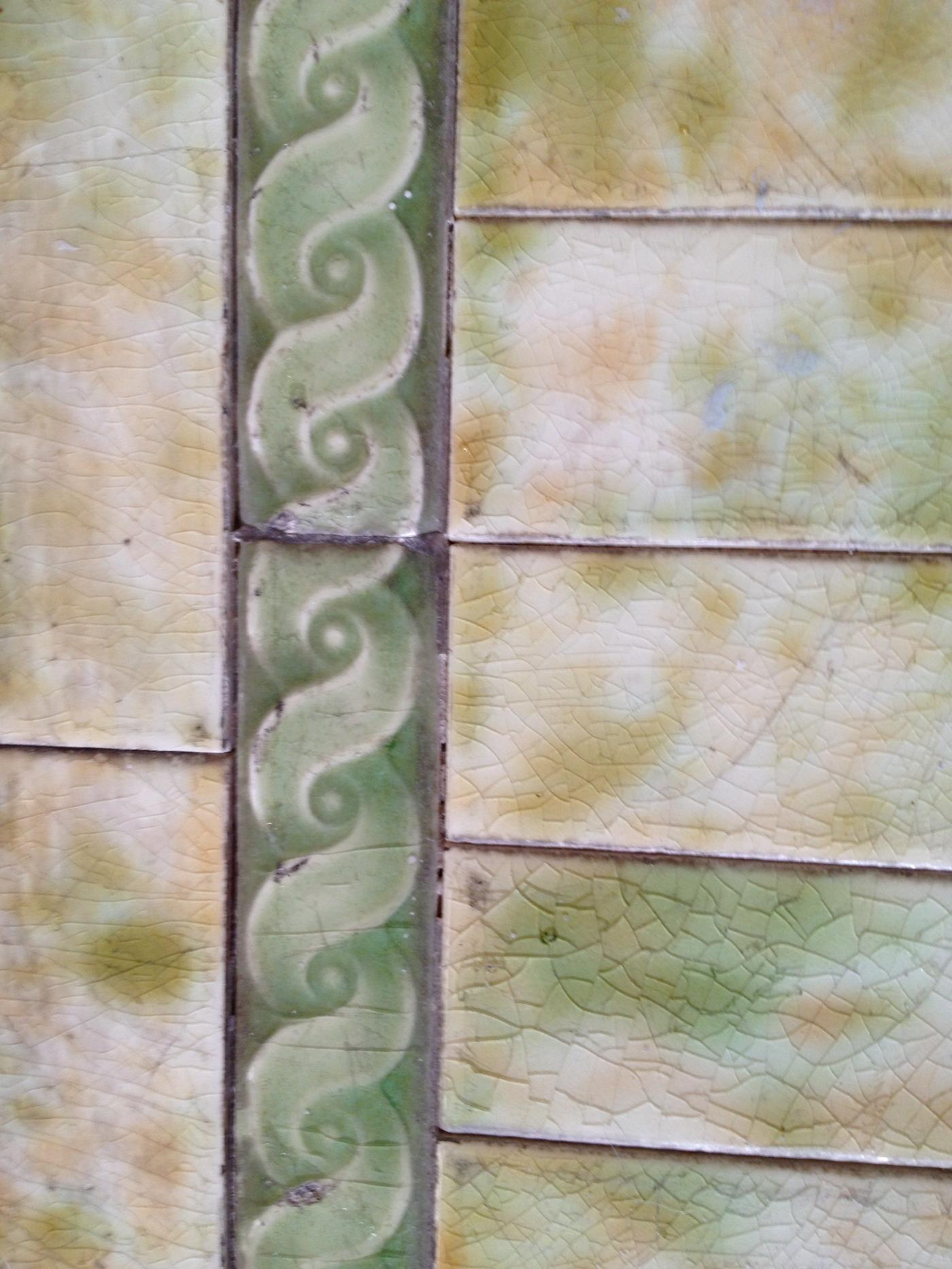 Crackled Victorian Tile