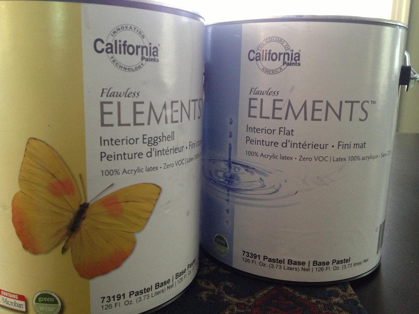 California Paints Elements Zero VOC
