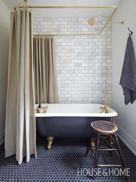 Mandy Milks Bathroom - via House & Home