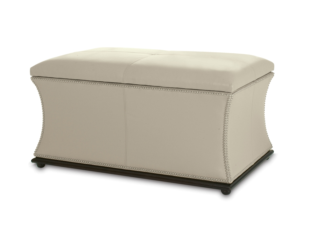 Kravet Newport Storage Ottoman - 10 High-Style Storage Ottomans | Interiors  For Families - 10 High-Style Storage Ottomans – Interiors For Families