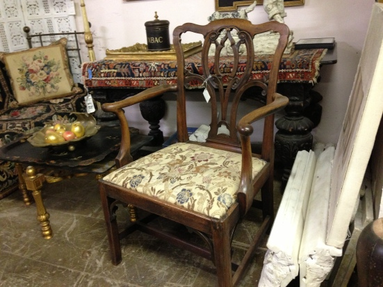 Chippendale Arm Chair - Berkshire Home & Antiques