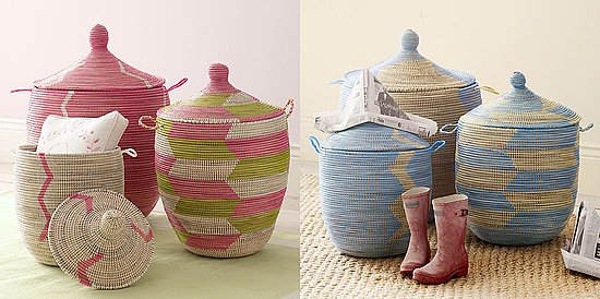 #1: Senegalese Storage Baskets (Serena & Lily) | 10 Great Accessories for Floor and Tabletop | Interiors For Families