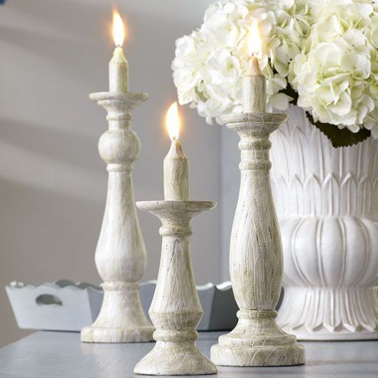 #3: Trompe L'oeil Candlesticks (Wisteria) | 10 Great Accessories for Floor and Tabletop | Interiors For Families