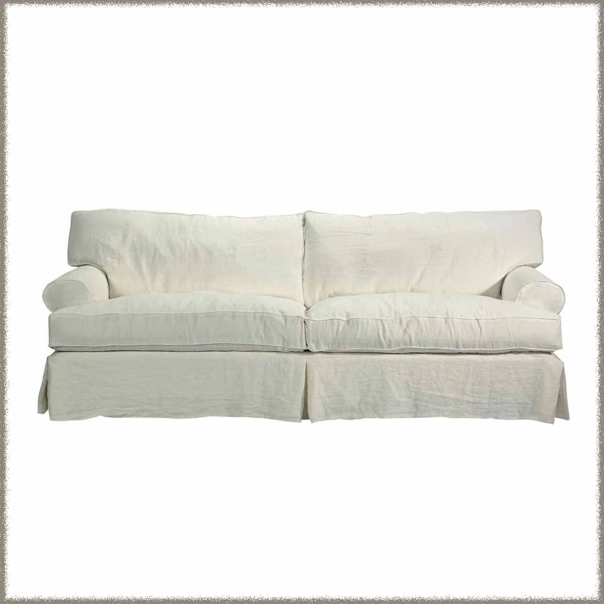 Slipcovered Sofa   Brand New
