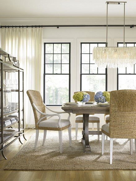 Bright, White Dining Room - via Interiors For Families