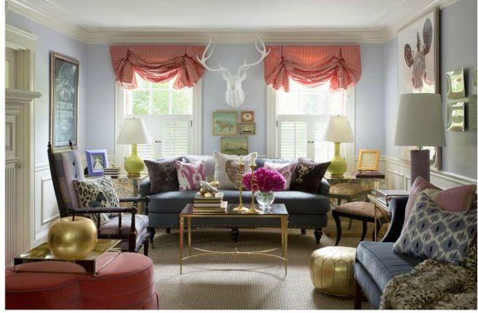 Liz Caan's Living Room | via Interiors For Families