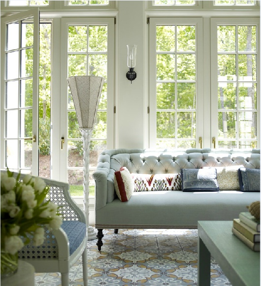 Why I Love a Tightback Sofa   Interiors For Families   designer: Katie Ridder