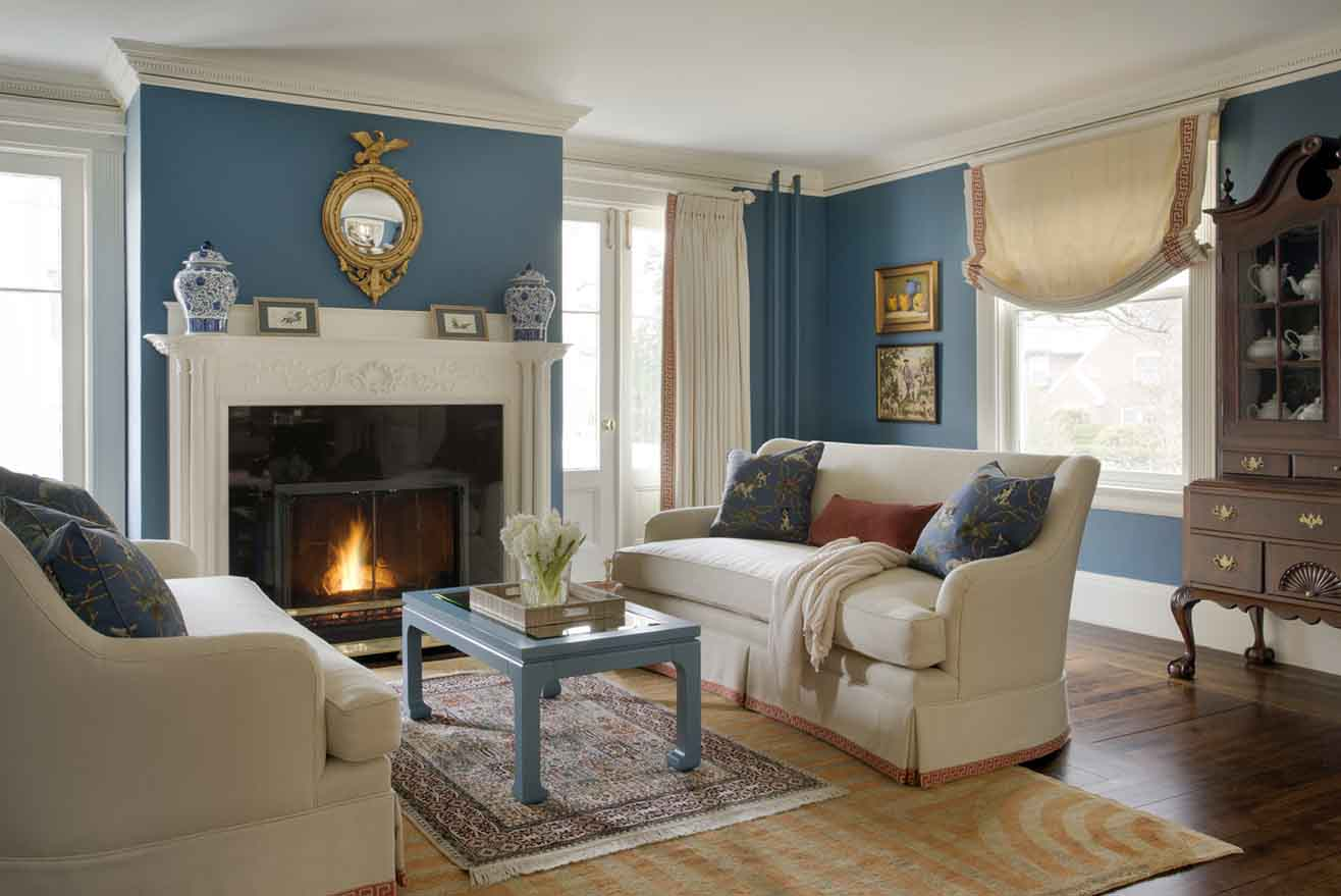 Formal and family friendly living room kelly rogers interiors via interiors for families