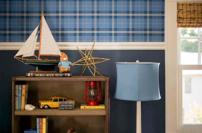 Eamon's Vintage American Nursery Tour   Kelly Rogers Interiors   Interiors for Families