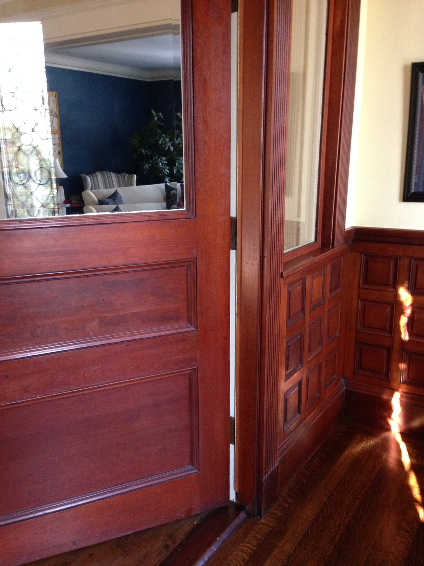 """One Room Challenge 4/2015 - """"Before""""   Interiors For Families   Kelly Rogers Interiors"""