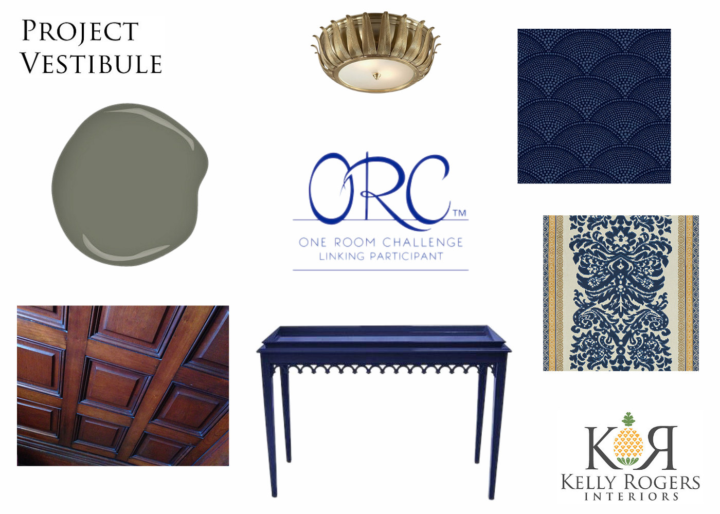 One Room Challenge 4/2015 | Interiors For Families | Kelly Rogers Interiors