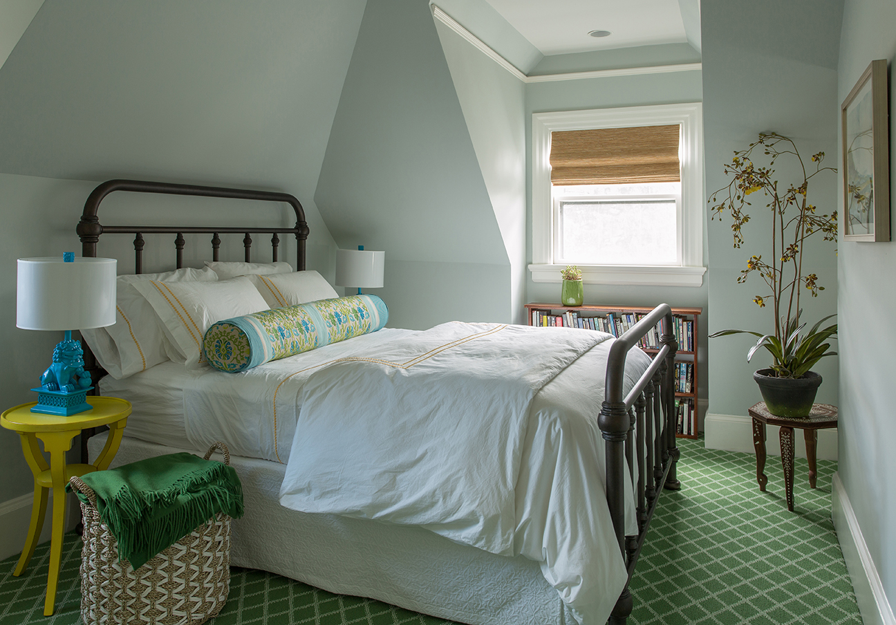 room reveal my colorful light airy guest suite