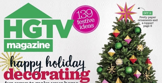 HGTV Magazine December 2016