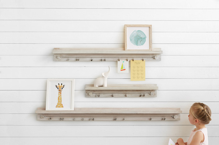Minted Little Artist Shelf | Friday Family-Friendly Find | Kelly Rogers Interiors