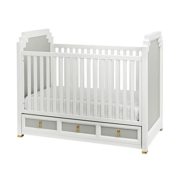 Friday Family-Friendly Find: DwellStudio Vanderbilt Convertible Crib   Interiors for Families