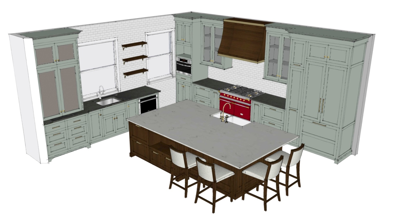 Project 1896: Kitchen Plans! | Kelly Rogers Interiors | Interiors for Families