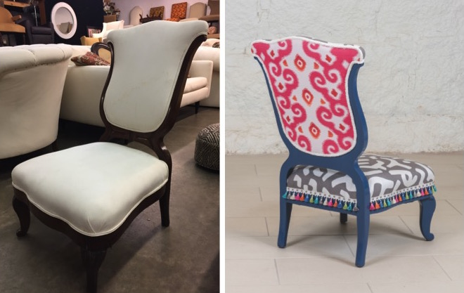 "Before & After: ""The Yes Chair"" for IFDA Take a Seat 