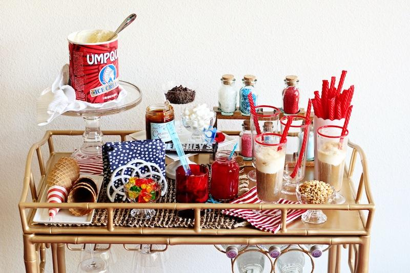 Booze-Free Bar Cart Ideas | Interiors for Families