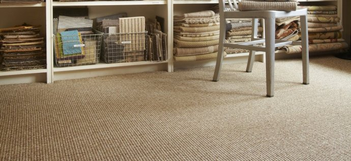 Friday Family-Friendly Find: Merida Ultrafiber Sisal Carpet | Interiors for Families