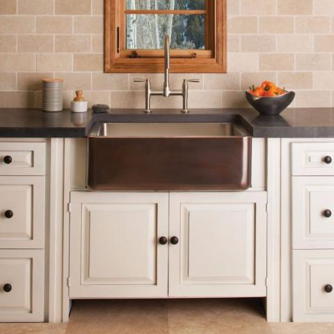 friday find stone forest steel farmhouse sink interiors