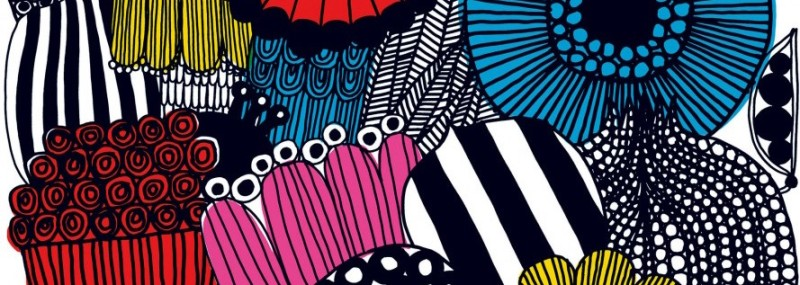 Friday Family-Friendly Find: Marimekko Coated Cotton Fabrics   Kelly Rogers Interiors   Interiors for Families