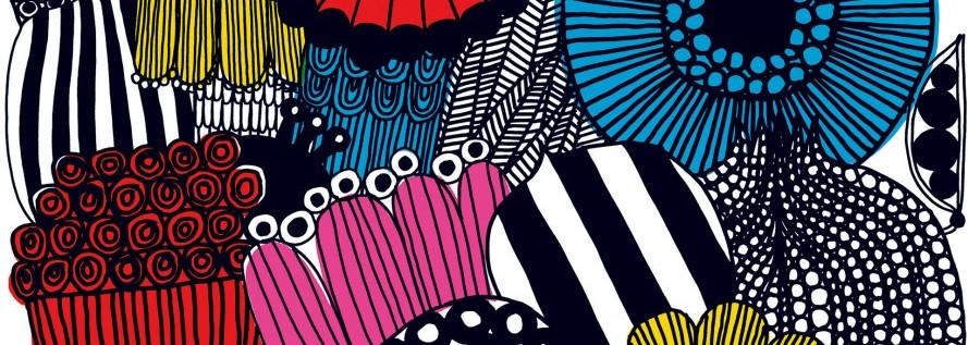 Friday Family-Friendly Find: Marimekko Coated Cotton Fabrics | Kelly Rogers Interiors | Interiors for Families