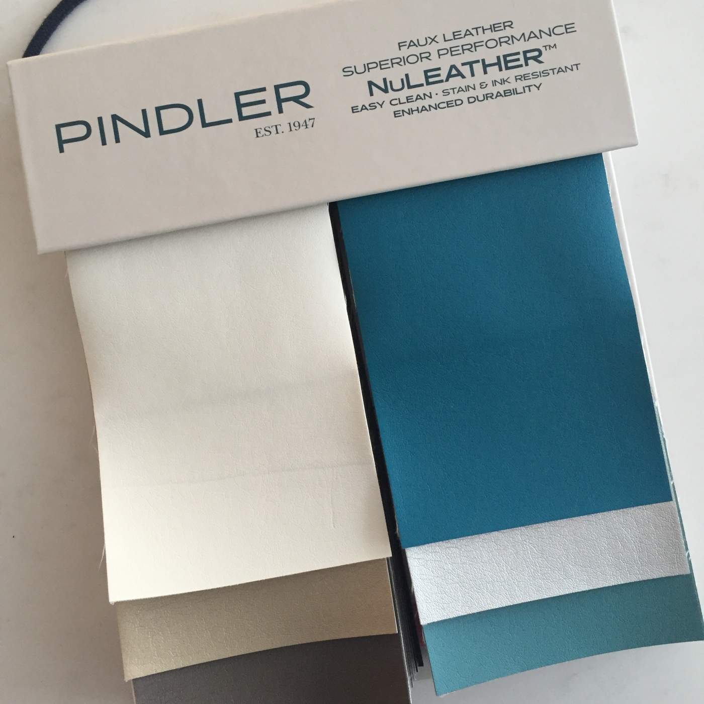 Friday Family-Friendly Find: Pindler NuLeather | Kelly Rogers Interiors | Interiors for Families